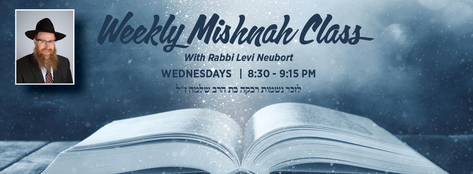 Mishnah Class